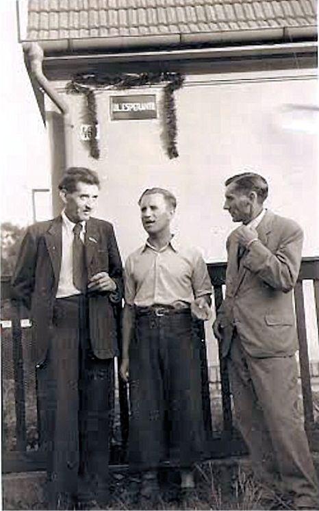 Esperantista Toman z Mladé Boleslavi (vpravo).