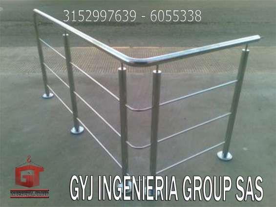 1000 ideas sobre barandas de acero inoxidable en for Escalera exterior de acero galvanizado precio