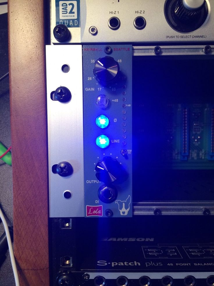 Brand new Hairball Audio Lola preamp with 2 Jensen 990 opamps