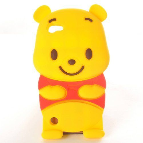 winnie the pooh ipod touch 5 5 me g n ration coque souple silicone etui housse de protection. Black Bedroom Furniture Sets. Home Design Ideas