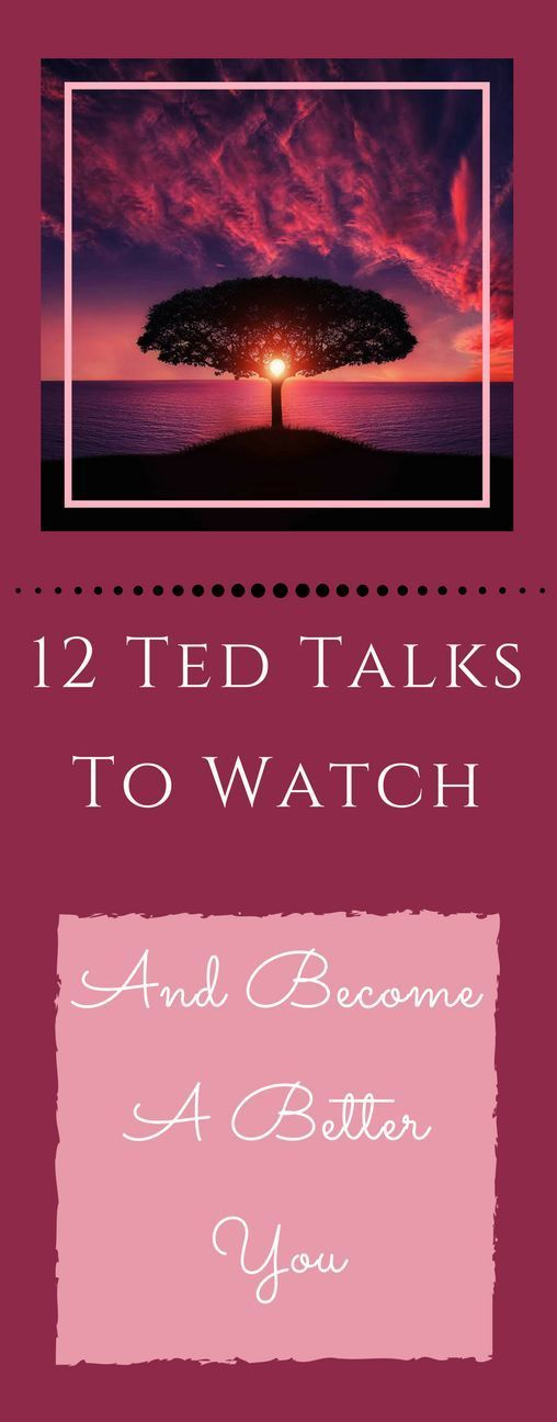 What do happiness, the ability to say yes and learning gratitude have in common? They are all things you need to be a better you. Watch these 12 Ted talks to be inspired to become a better you.
