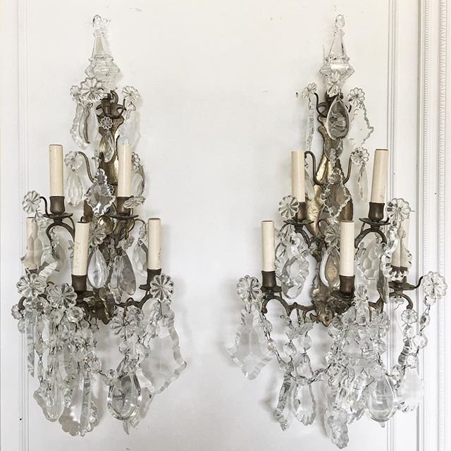 Gorgeous pair of #french sconces coming soon...