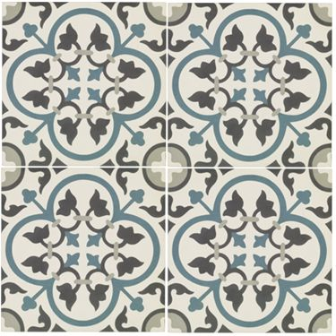 St Etienne - Toulouse - Wall & Floor Tiles | Fired Earth Shower room floor