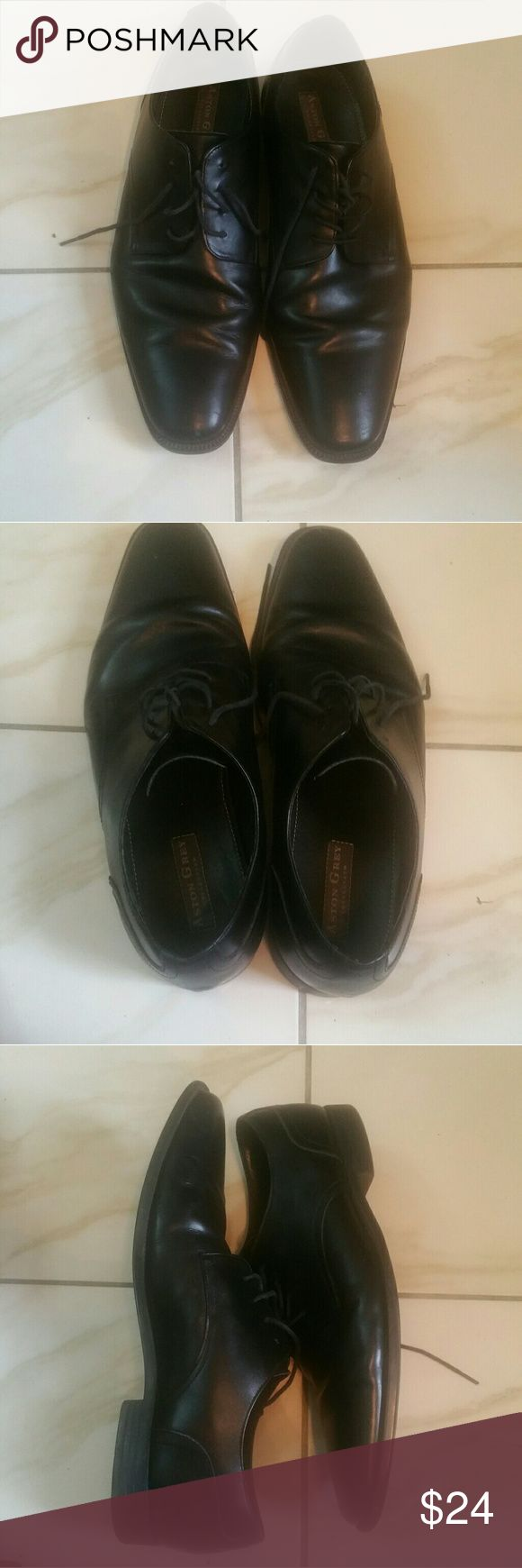 Aston Grey Holland size 11 oxford Euc black Euc, great for any occasion Aston Grey Shoes Oxfords & Derbys