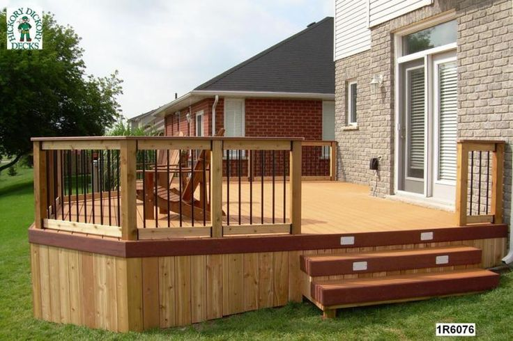 deck+designs+and+plans | This deck plan is for a large, single level, 3 ft. high deck.