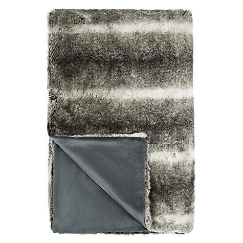 25 best ideas about grey faux fur throw on pinterest. Black Bedroom Furniture Sets. Home Design Ideas