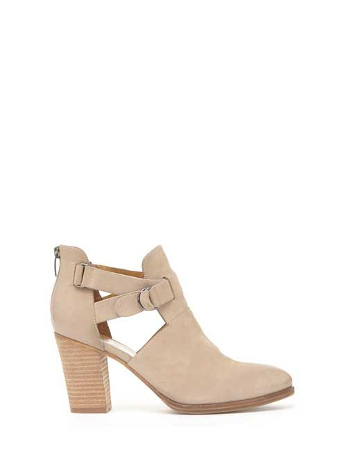 Sand Tyra Cut Out Ankle Boot