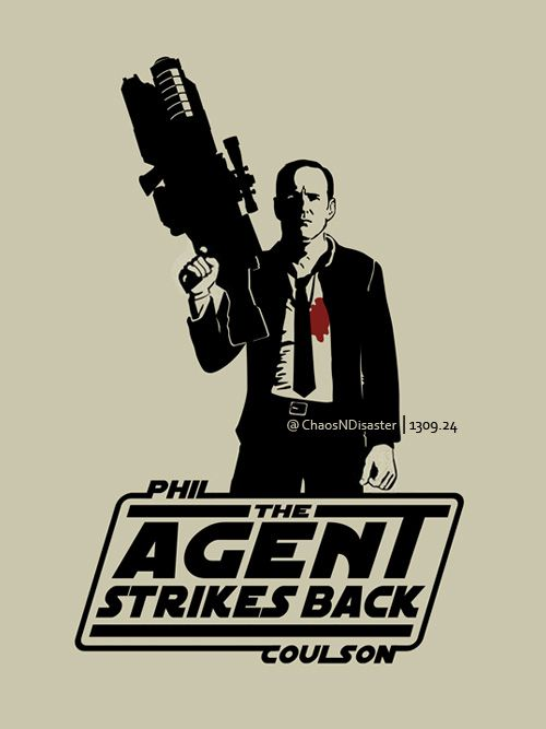 The Agent Strikes Back by ChaosNDisaster || Phil Coulson || #fanart #humor