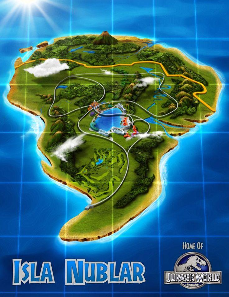 14 best isla nublar reconstructions jurassic park michael crichton high resolution isla nublar map by teslarex gumiabroncs Images