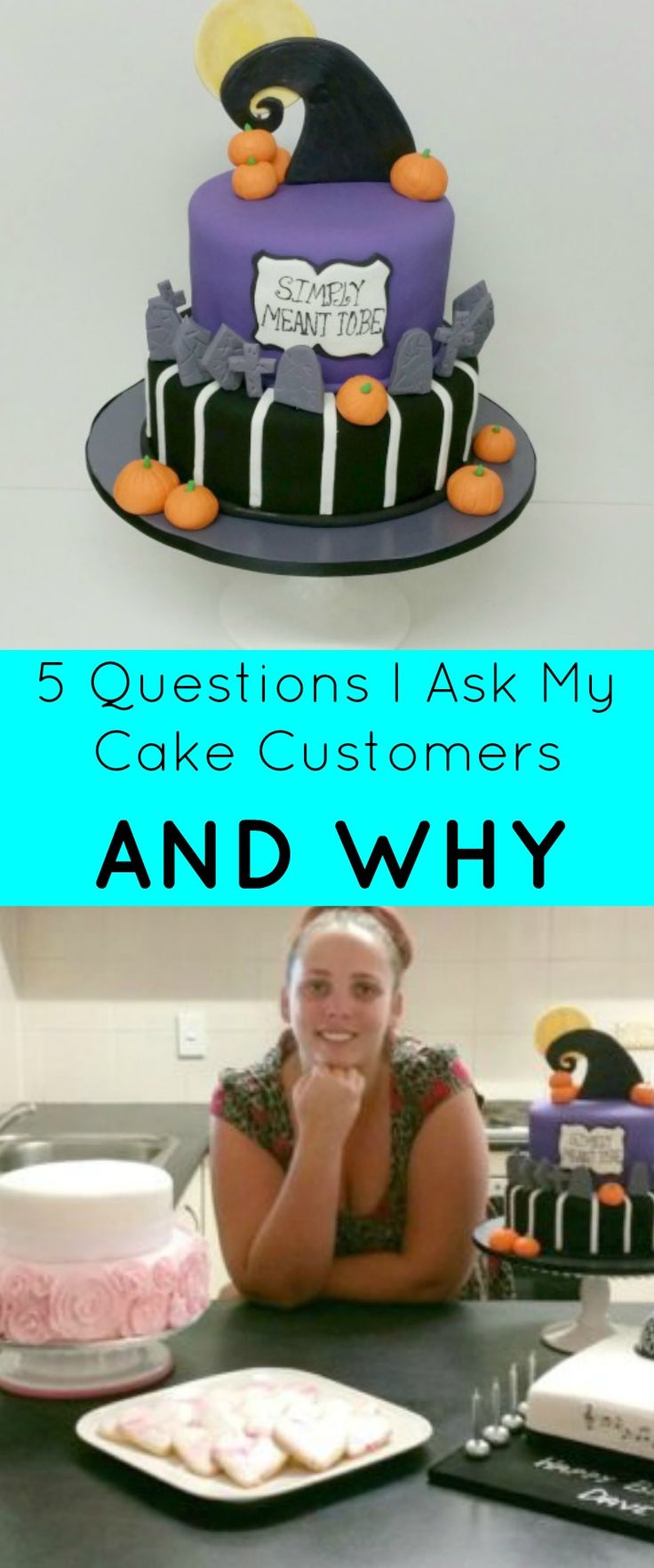 5 Questions I Ask My Cake Customers & Why | Customers contact us in many different ways to receive a quote from us cakers. The requests come in the form of Facebook, email, phone calls, text messages, knocks on the doors – you name it, we get it! | http://magnificentmouthfuls.com.au/2017/04/13/cake-customer-questions/