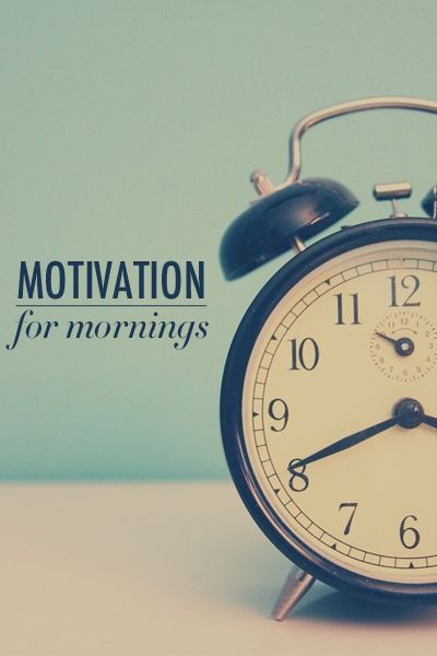 Mid-week #Motivation | Lose the Snooze: Help Finding Motivation to Wake Up Earlier
