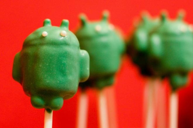 Android Cake Pop :)