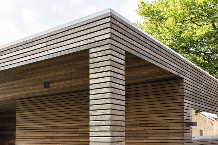 houten bijgebouw zomer genieten overkapping opberging