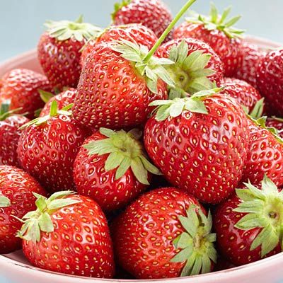 Eat THIS for better sex! Strawberries are #1 on our list. #sex | Health.com