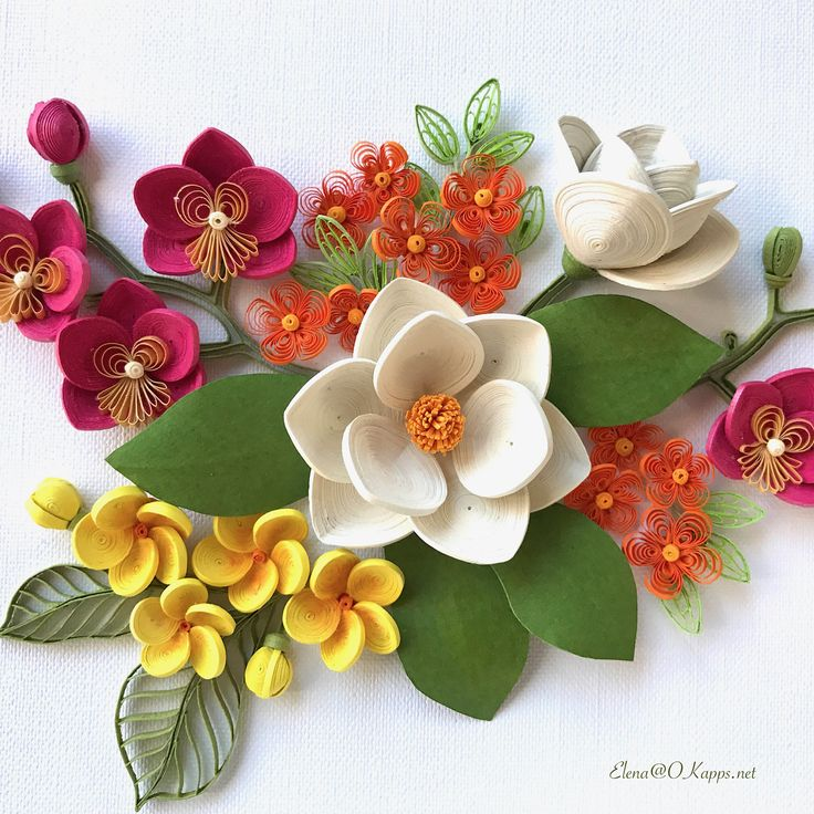 "41 Likes, 5 Comments - Elena Chiorsac (@elena_chiorsac) on Instagram: ""#quilling #flowers"""