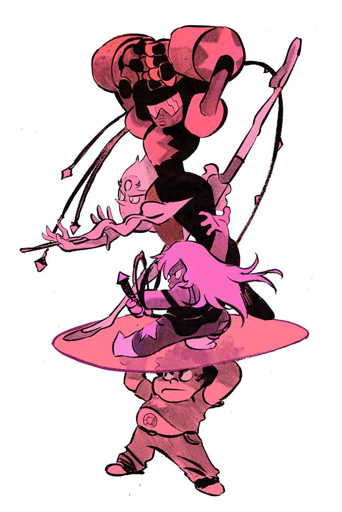 tribute to Steven Universe - by Matias Bergara