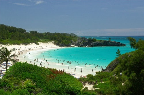 Beautiful Horseshoe Bay Beach Bermuda Texas Hill Country