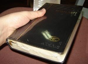 Turkish Bible Black / Kutsal Kitap (Tevrat, Zebur, Incil) / Large High Quality Bible