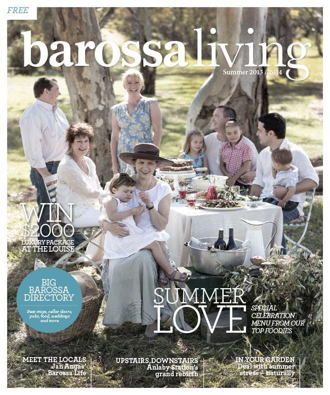 Jason Hamer - Creative Director for Barossa Living Magazine Summer 2014