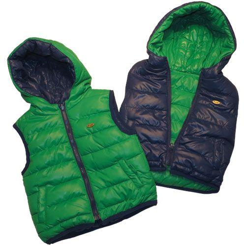 SALDI!!!! SCONTO DEL 30% SU TUTTO L'ABBIGLIAMENTO per bambini in negozio! E trovi anche questo bellissimo piumino smanicato reversibile blu-verde Mayoral a 23,80 euro anziché 34,00. Che aspetti? Ti aspettiamo da Nidodigrazia, a Busto Arsizio (Va), in Corso Italia, 30!!!  #saldi #abbigliamento #bambini #reversibile www.nidodigrazia.it