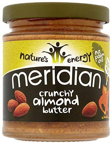 Meridian Natural Crunchy Almond Butter 170 g (Pack of 3) ... https://www.amazon.co.uk/dp/B00DDK0L5S/ref=cm_sw_r_pi_awdb_x_xIT2ybHZ8BPWN