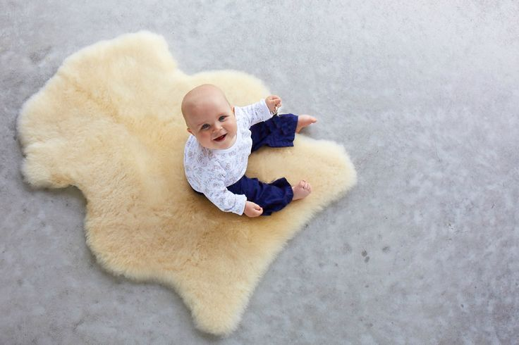 Every baby should be treated to an Infant Care rug. Sanitised to be safe and easy to care these are great for baby showers.  (http://www.classicsheepskins.com/infant-care-rug/)