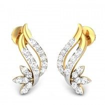 Briana Diamond Earring. Read more about diamond earrings for women at http://www.candere.com/jewellery/womens-diamond-earrings.html