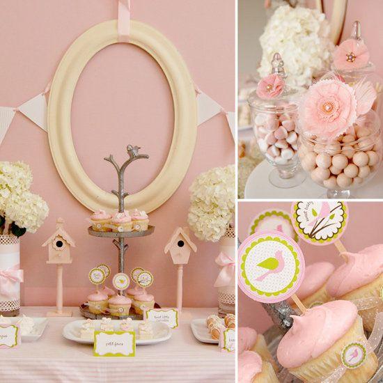 A little pink birdies shower pink baby shower baby shower ideas baby shower images baby shower pictures baby shower photos baby shower themes birdie