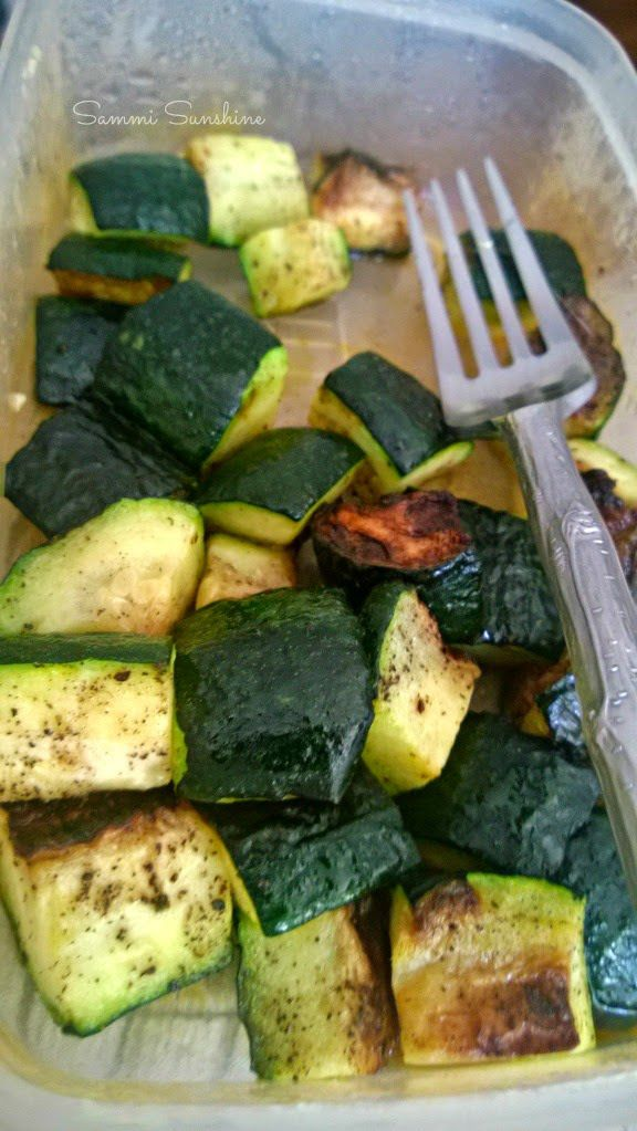 How To Roast Vegetables- Zucchini. A foolproof method on how to roast any type of vegetable! | Sammi Sunshine