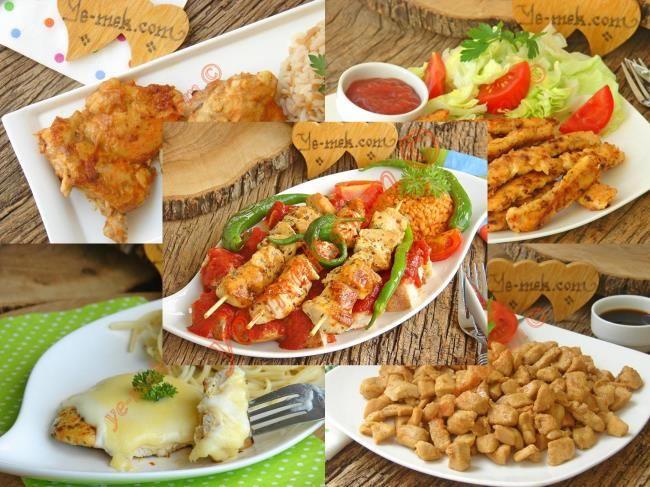 Tavada Pratik Tavuk Yemekleri Resimli Tarifi - Yemek Tarifleri