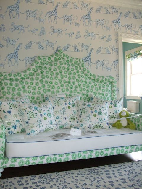 A little kooky for a girl LuLu DK fabrics // daybed in nursery room //  Santa Barbara Design House - Best 25+ Nursery Daybed Ideas On Pinterest Kids Daybed, Built In