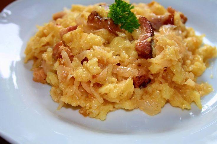 Halušky se zelím | Chutné recepty na každý deň | Mňamkyrecepty.sk