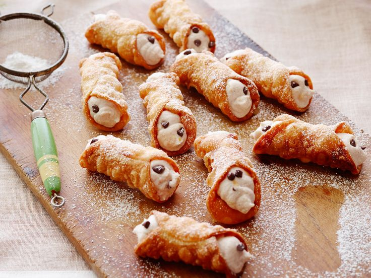 Homemade Cannoli Recipe : Alex Guarnaschelli : Food Network - FoodNetwork.com