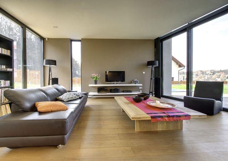 simple warmth living interior house design