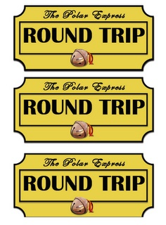 Tickets to use for watching Polar Express with your students from my cousin Allison's blog! So cute!
