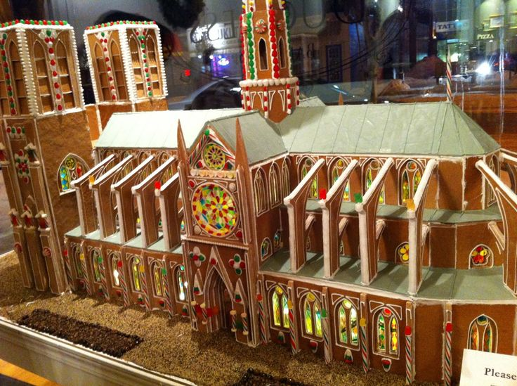 gingerbread notre dame - Google Search