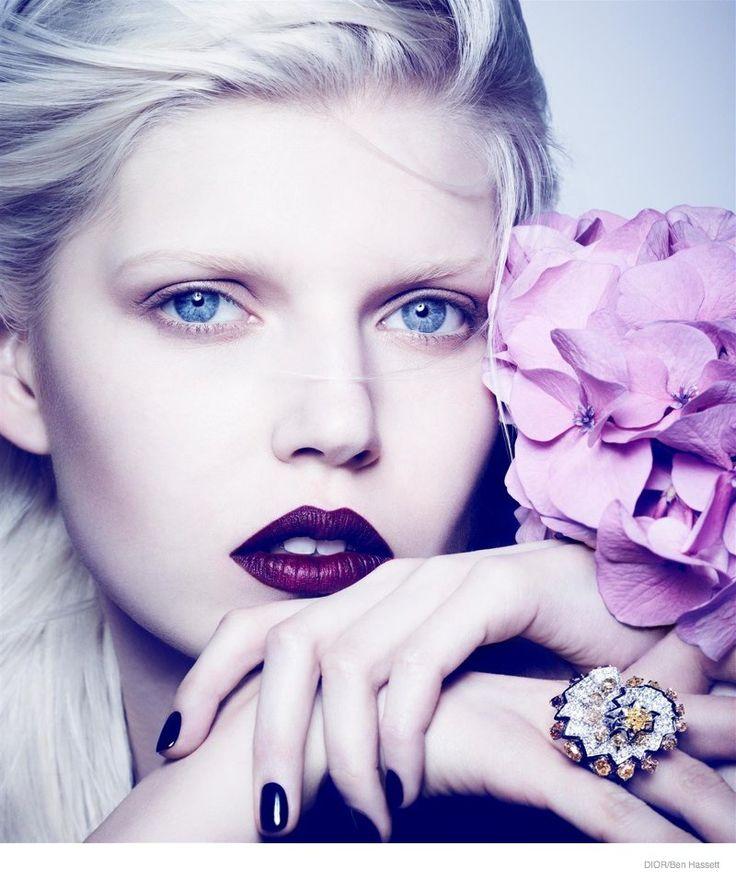 ola rudnicka dior jewelry 2014 02 High Jewelry: Ola Rudnicka by Ben Hassett for Dior Magazine