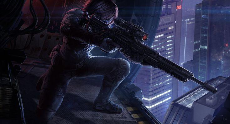 Sniper by LeeJJ.deviantart.com on @DeviantArt