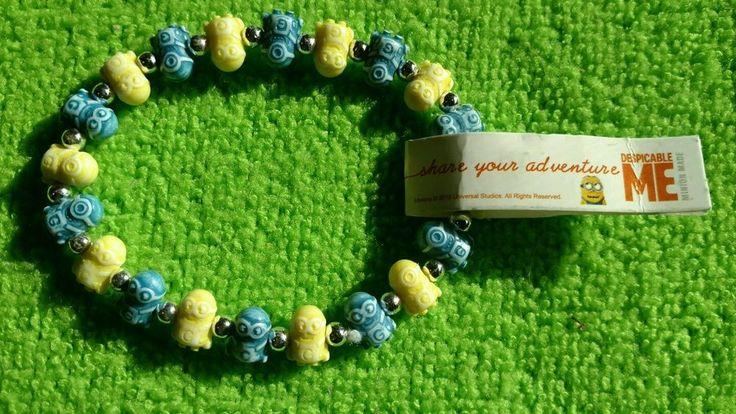 Trrtlz Bracelet Yellow Blue Minion Despicable Me Friendship adventure  #Trrtlz #Friendship