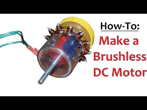 how to build a brushless ac motor