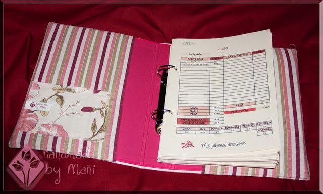 Cuaderno fórmulas y recetas