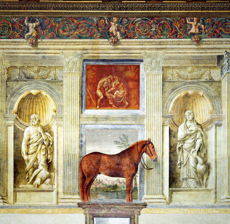 Palazzo Te - Mantova Sala dei Cavalli (Giulio Romano)