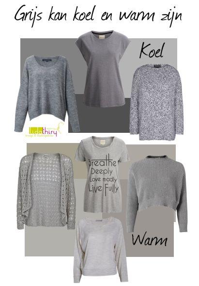 Het verschil tussen koel grijs en warm grijs   www.lidathiry.nl  