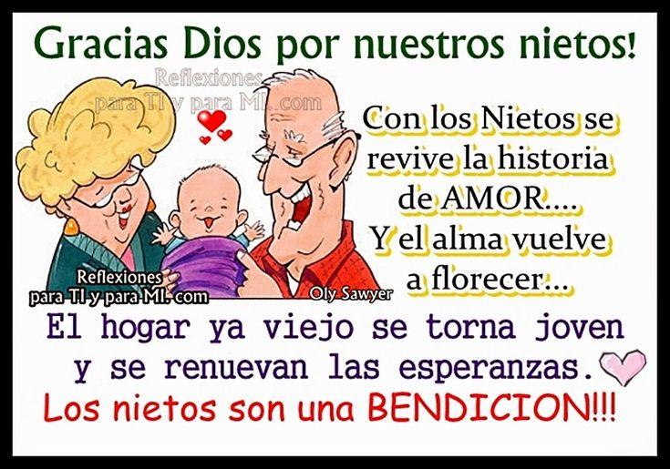 Reflexiones para TI y para MÍ: ***** Gracias Dios por nuestros Nietos!!! *****
