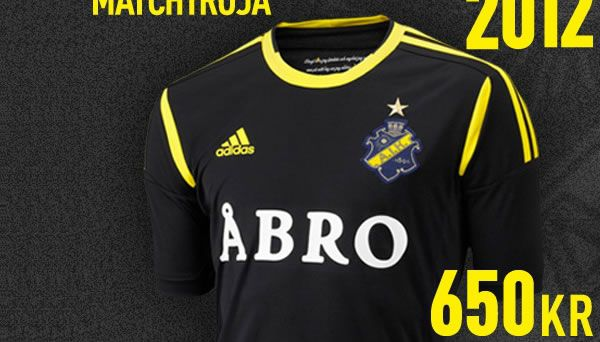 AIK's home colours are black and yellow, AIK's crest is dark blue (not black), yellow and gold. Creator of the crest was Fritz Carlsson-Carling, a runner and football player who won a contest where the award was to design a new crest for AIK. He wanted the crest to convey four basic values: tradition, force, glory and joy.