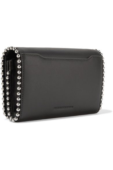 Alexander Wang - Attica Biker Studded Leather Shoulder Bag - Black - one size