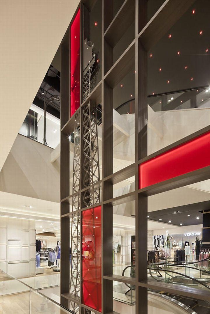 Galeries Lafayette Department Store Jakarta Indonesia Designed By Plajer Franz Studio