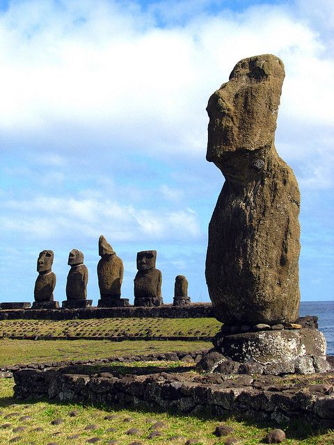 Easter Island, Southeastern Pacific Ocean, Chile www.WrapWithCath.myitworks.com www.Facebook.com/WrapWithCC