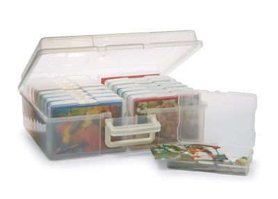 A must for any scrapbooking enthusiast! Protect, sort, and store your 4
