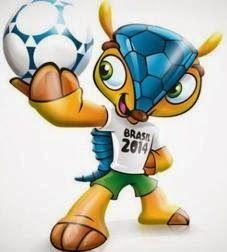 Brasil 2014: Fuleco (Un armadillo)